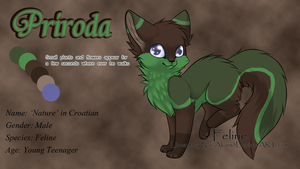 Priroda Reference Sheet by RakshaWw