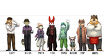 Height Comparison Reference by MasaBear