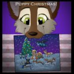 Puppy  Christmas! by tacianap