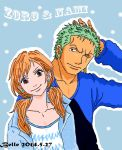 Blue (Zoro Nami) by BelleLoveZoro
