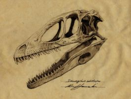 Deinonychus antirrhopus by Telera1701