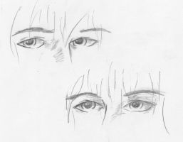 Eye Sketches by covert15