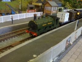 GWR 0-6-0ST steam loco by YanamationPictures