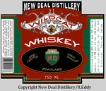 Whiskey Label by Lijj