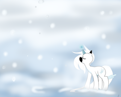 Winter Maker Unicorn by Geeflakes-art