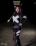Comikaze 2014 Psylocke Photoshoot 9 by RonBirdArt