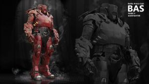 BAS Mark 4 BAS - Battle Armor by HPashkov