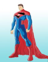 New Superman Colors by chimera335