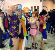 One Piece Cosplay group by NamiTheQueen13