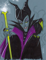 Warm Up 2, 12-30-2013 Maleficent by Hodges-Art