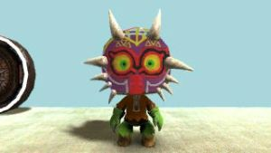 Majora's Mask sackboy by Jump-Button