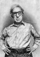 Woody Allen by portraits668