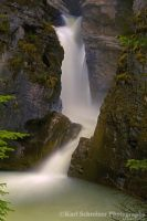 Lower Falls Johnston Canyon by KSPhotographic