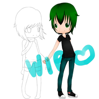AT: Skylar and Jack WIP by MyNameIsVi