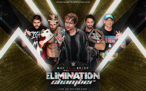 Wwe Elimination Chamber Wallpaper #1 by withmodesty