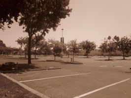 21st Century Sepia: Parking by cillanoodle
