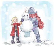 fma :: snowman by rockinrobin