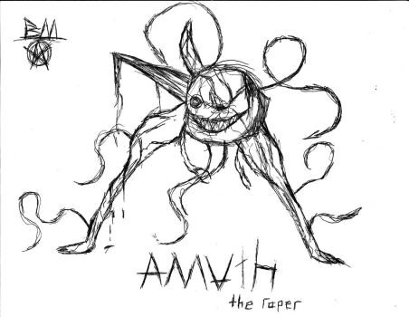 Amuth, the raper by OMN1P0T3NT