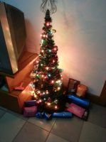 Christmas tree by Laura-in-china