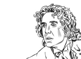 The Eighth Doctor by intrepid-Inkweaver