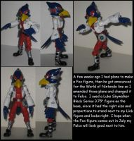 Wakeangel2K1 custom: Falco by Wakeangel2001