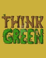 Think Green by recycledwax