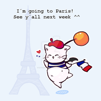 Going To Paris! by RazorCheeks