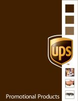 UPS Promotional Product Cover by divineattack