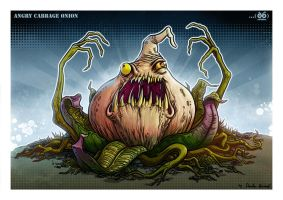 Angry Cabbage Onion by Darkodev