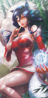 Ahri for Poster by bibico-Atelier