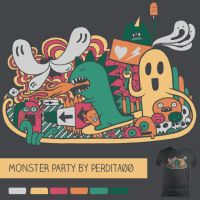 Monster Party by perdita00
