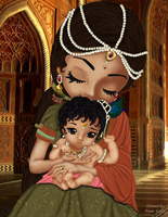 Baby Krishna by DianeVallee
