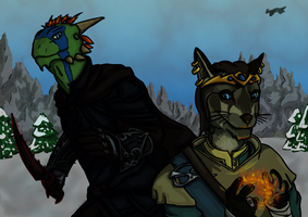 Adventures in Skyrim by TechnoBlade