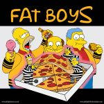 Fat Simpsons by PhilipH100