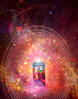TARDIS series - The Sixth Doctor by girl-withagun