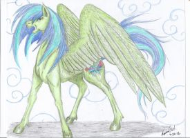 God's Winged One by KyuremGirl
