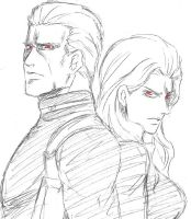We Wesker by okihegaK