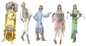 Fairy tale Designs by Marcusstratus