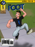 The Foot Comic Mockup by DanielPalmer