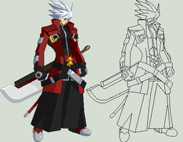 Ragna The Bloodedge by 0kronos0