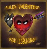 Sulky Valentine For ISBJORG by Agregor
