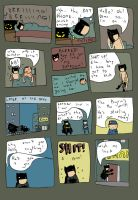 BATMAN IN CITY OF THE BAT Pg.2 by pernobassist