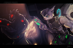 Space Pirate by LenZchu