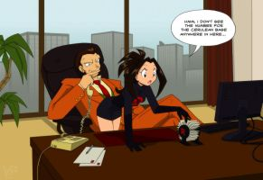 Inappropriate Office Behaviour :I by espie