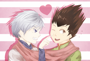 KILLUA x GON by Reinshire