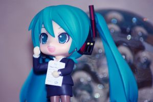 Office Lady Miku by Platon47
