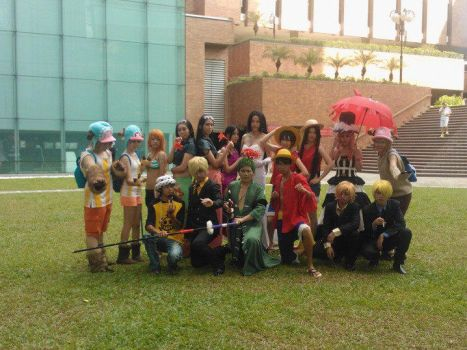 One Piece Cosplayers by Lepuppy7