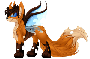 Fox Changeling Shaded by chris9801