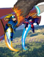 Rocket Knight Rivals: Redux by negathus