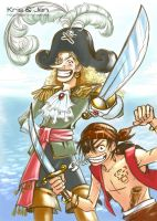One Piece. We fans. by jen-and-kris
